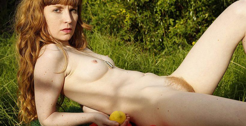 Noelle's Juicy Hairy Pussy