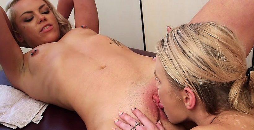 Massage Turns Into Lesbian Fucking